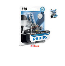 PHILIPS whitevision h8 pgj19-1 Premium 12360 whvb 1 2 ST. + + NUOVO in negozio + +