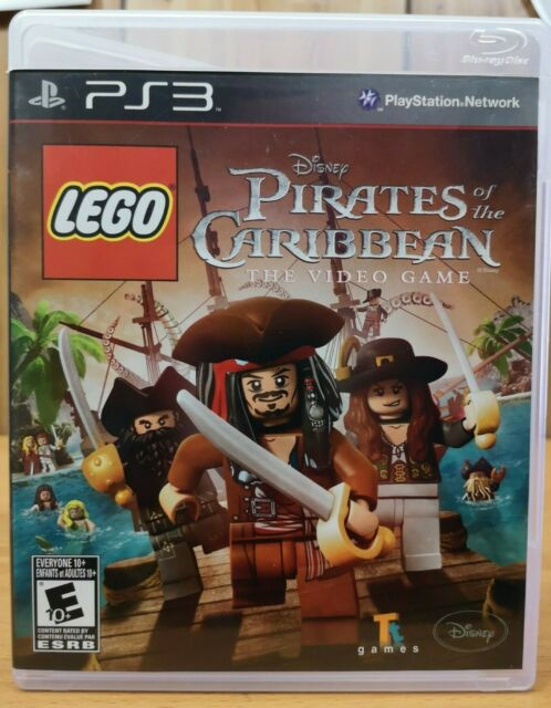 LEGO Disney Pirates of the Caribbean The Video Game (Playstation 3 ps3 2011)E10+