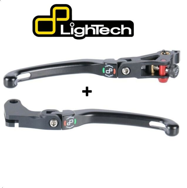 Lightech Set Palanca Freno y Embrague Plegable Kawasaki Ninja 400 2018