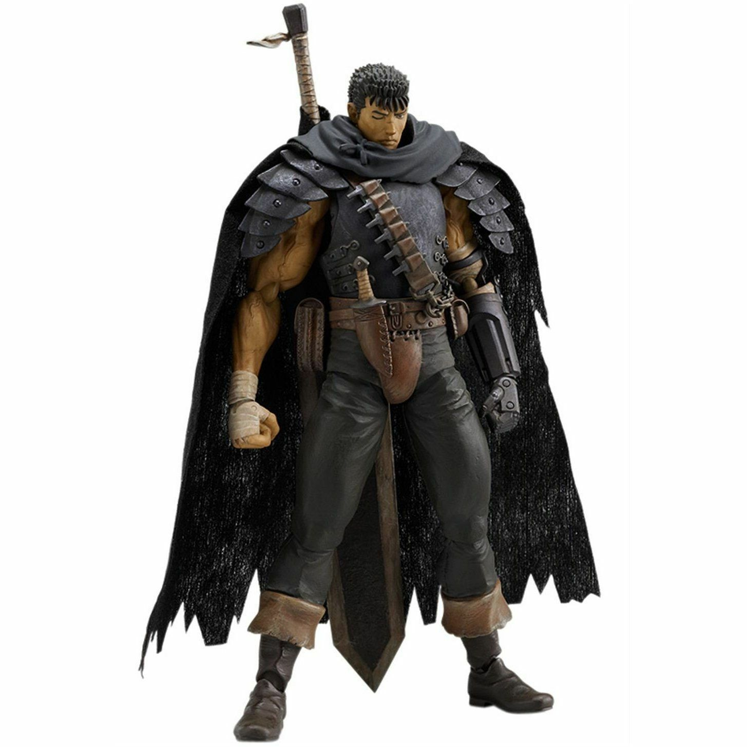Figma 120 Berserk  Guts Noir soldat Ver. Figure Max Factory from JAPAN  vente avec grande remise