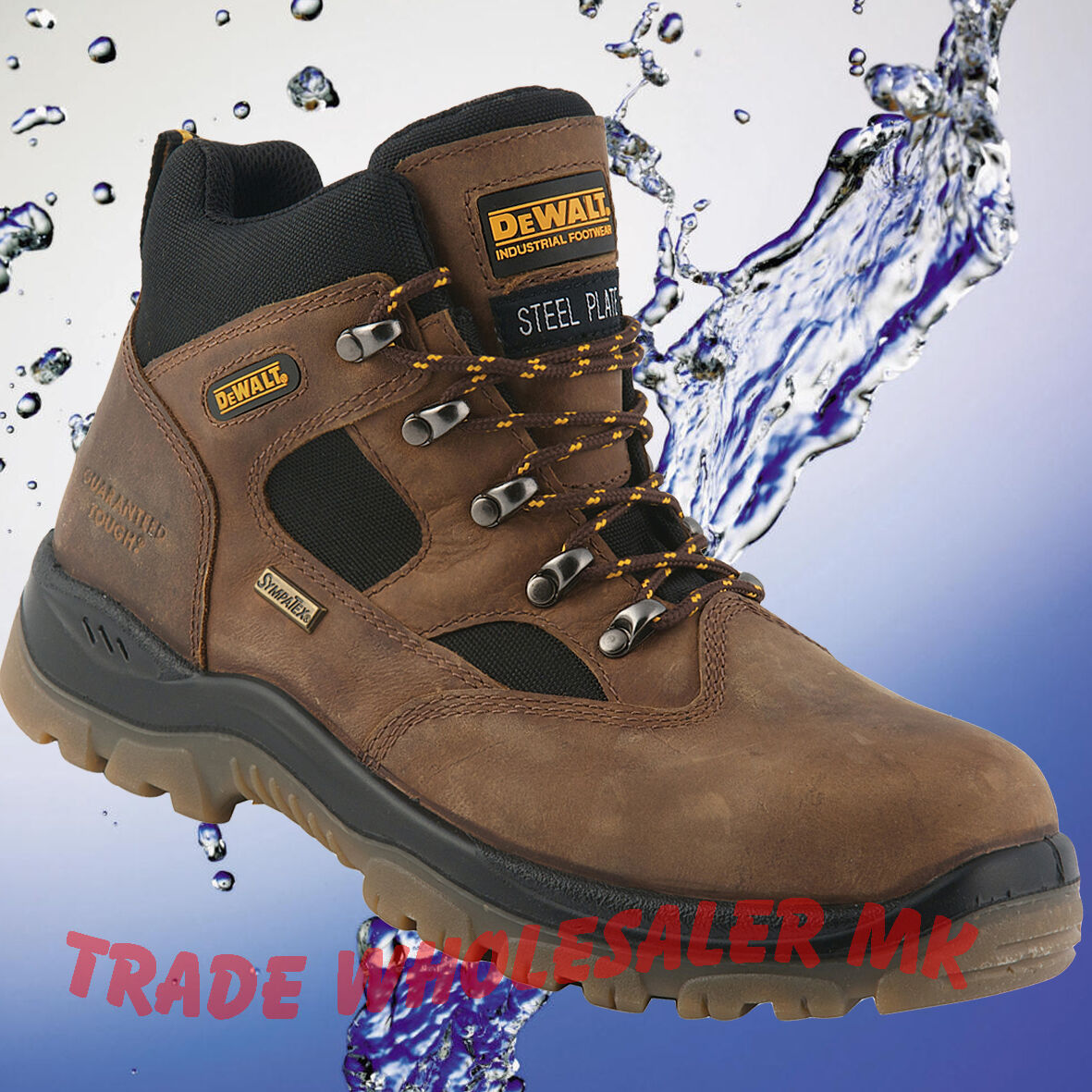 DeWALT Challenger 3 brown S3 waterproof safety boots latest model