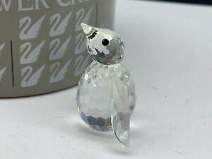 Swarovski-Figurine-010027-Penguin-3-5-Cm-Boxed-amp-Zertifikat-Top-Condition
