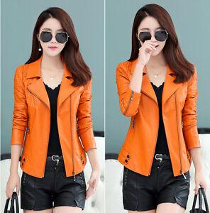 2017-New-Spring-Leather-women-039-s-jacket-coat-Lady-Jacket-short-Leather-Coat
