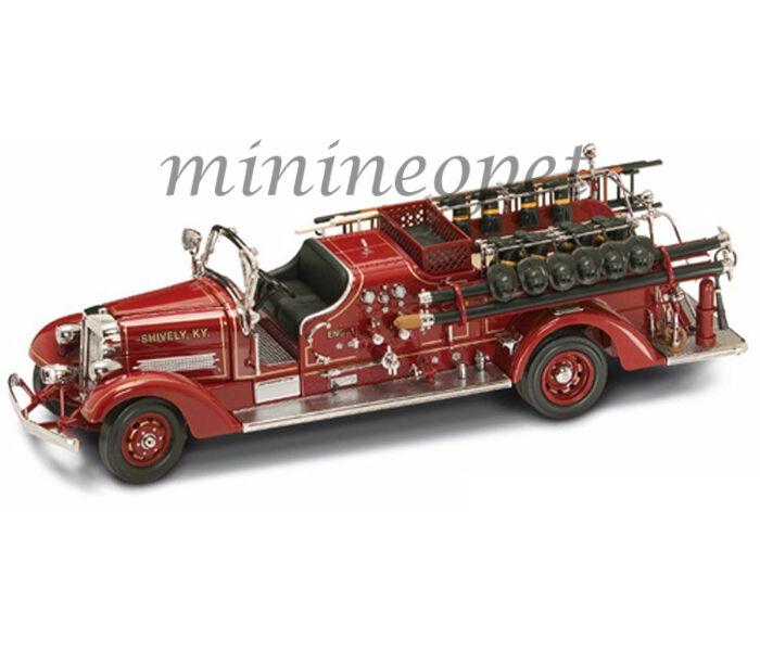 Carretera firma 20178 1938 38 Ahrens Fox Vc rosso fuego Motor Truck 1 24 Diecast