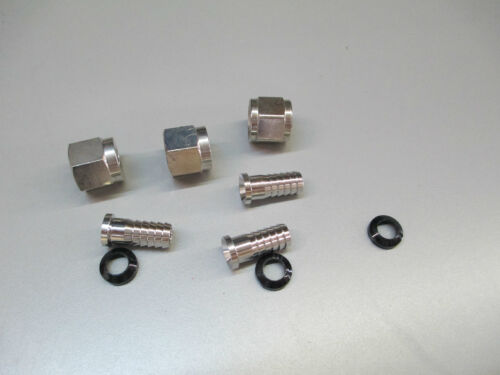 "3//8/"" BARB STEM 3//8/"" WASHER 3//8/"" SWIVEL NUT 3 pack"