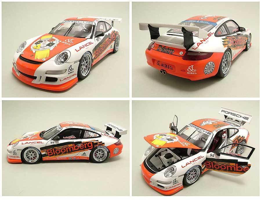 PORSCHE 911 997 GT3 CUP  98 2006 BLOOMBERG PHILLIP CARRERA CUP ASIA AUTOART 1/18