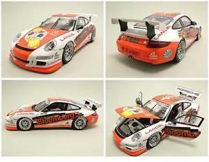 Porsche 911 997 Gt3 Cup # 98 2006 Bloomberg Phillip Carrera Asie Autoart 1/18