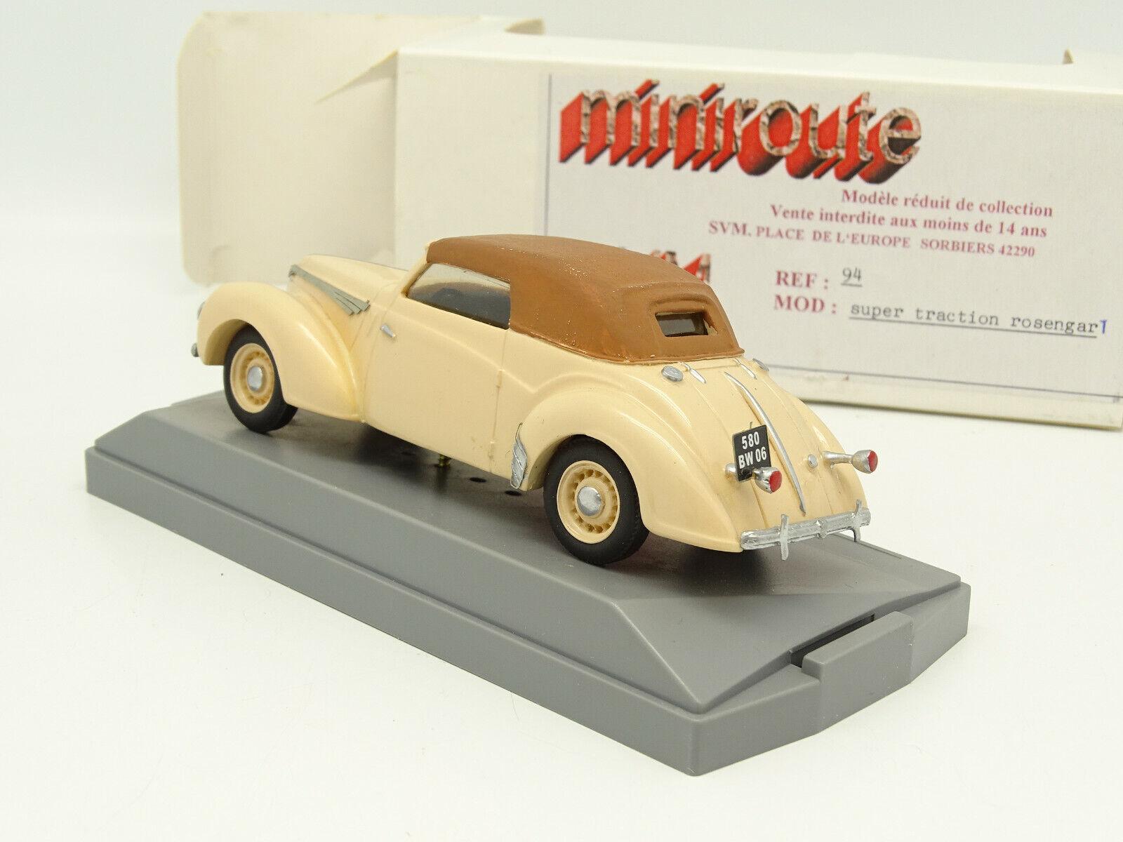 Miniroute 1 43 - pinkngart Super Traction Beige Beige Beige 891fc7