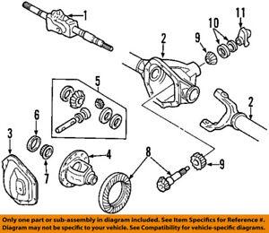 Wondrous Ford Oem Front Differential Pinion Yoke Companion Flange F81Z4851Ka Wiring 101 Akebretraxxcnl