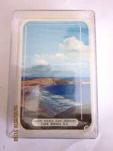 VINTAGE-CROXLEY-PLAYING-CARDS-SOUVENIR-NEW-ZEALAND-1950-039-s-SEALED-UNUSED