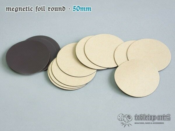 Magnetic Foils 1 31 31 31 32in round 12 Pieces Tabletop Type Self Adhesive Pin Bases 294d73