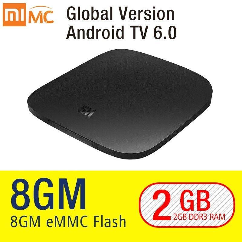 Xiaomi Mi TV Box Media Streamer Model Android 6.0 4K HDR 8GB Global Version