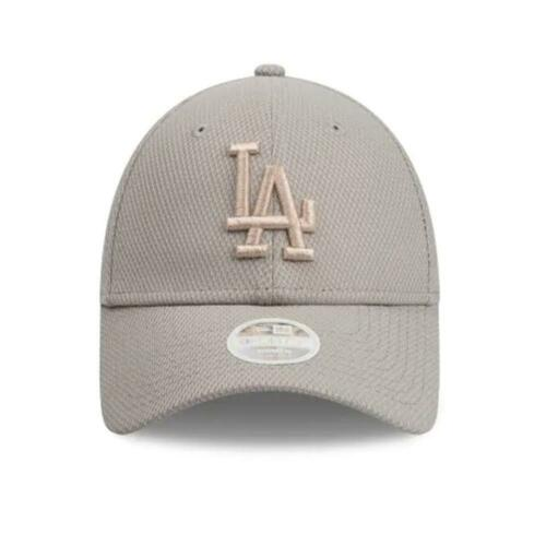 Ladies Los Angeles Dodgers New Era NBL m 9Forty Hat In Diamond Grey Cap