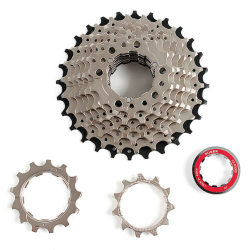 SUGEK 9 Speed Bicycle Freewheel MTB Road Bike Cassette Highway Flywheel 11-28T