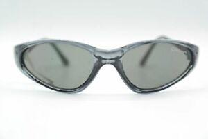 Vintage Alpina A8221 Kinderbrille schwarz oval Sonnenbrille sunglasses NOS