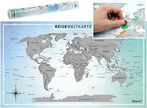 weltkarte world map poster zum rubbeln xxl rubbel weltkarte landkarte pinnwand 4251036900581 ebay. Black Bedroom Furniture Sets. Home Design Ideas