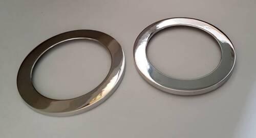 D PORSCHE 911 G Modèle-CHROME anneaux pour interrupteur miroir-aluminium poli
