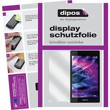 2x Medion LifeTab P8312 Schutzfolie klar Displayschutzfolie Folie dipos