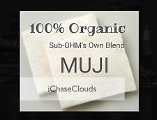 Organic 100% Japanese Cotton 40 pads -  Wick Unbleached E