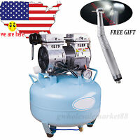Ce Fda Dental Medical Noiseless Silent Oilless Air Compressor Filter