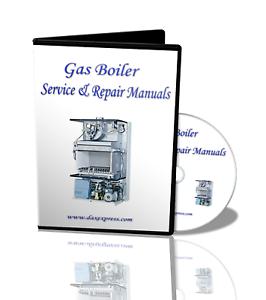 Wiring Diagrams Service Manuals Gas Boiler Heater /& Plumbing Repair CORGI