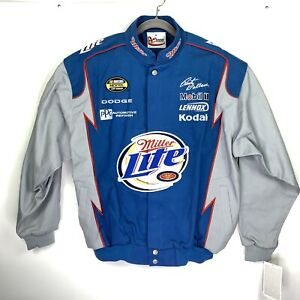 Chase-Authentics-Jacket-Nextel-Cup-Rusty-Wallace-NWT-Mens-XL-Miller-Lite-NASCAR