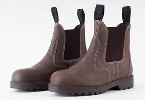 Rhinegold-Tec-Steel-Toe-Work-Safety-Boots-Jodhpur-style-Certified-CE20345-SB