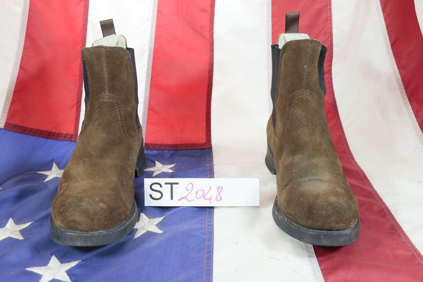 Stivali HARLEY-DAVIDSON (Cod. ST2048) USATO N.43 men pelle scamosciata brown