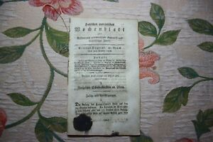 Actif 1808 Halle Hebdomadaire 41/école/méchant Esprit Glaucha Enterrement Société-afficher Le Titre D'origine
