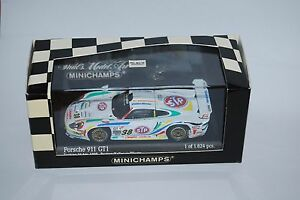 Minichamps Porsche 911 Gt 24h Daytona 1998 430986838 Neuf / boite Nouveau / Boîte 1/43