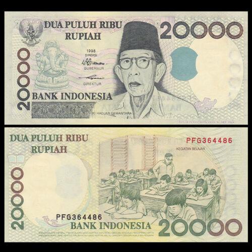 Indonesia 20000 Rupiah P-138b UNC 1998