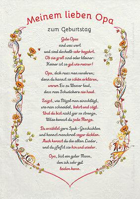 Geschenk Urkunde Für Opa Geburtstagsgeschenk