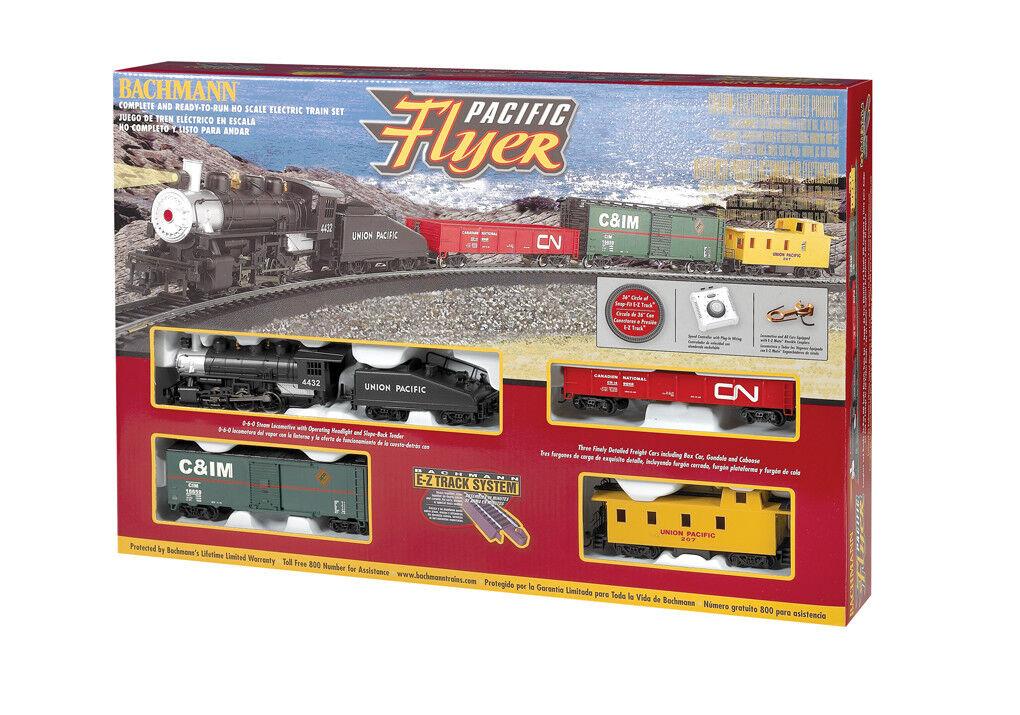 692 Coffret avgår tågvagnar Locomotive vapeur Union Pacific Bachmann HO 1  87