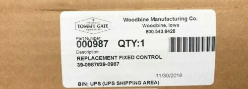 Tommy Gate Lift Gate 000987 Replacement Control