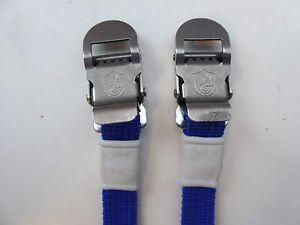 MTB Vintage Blue Campagnolo Vintage Nylon Toe Straps NEW NOS Road Eroica