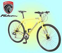 Falcon Traffic Mens 700c Lightweight Alloy Hybrid Bike - 21 Speed Shimano Gears