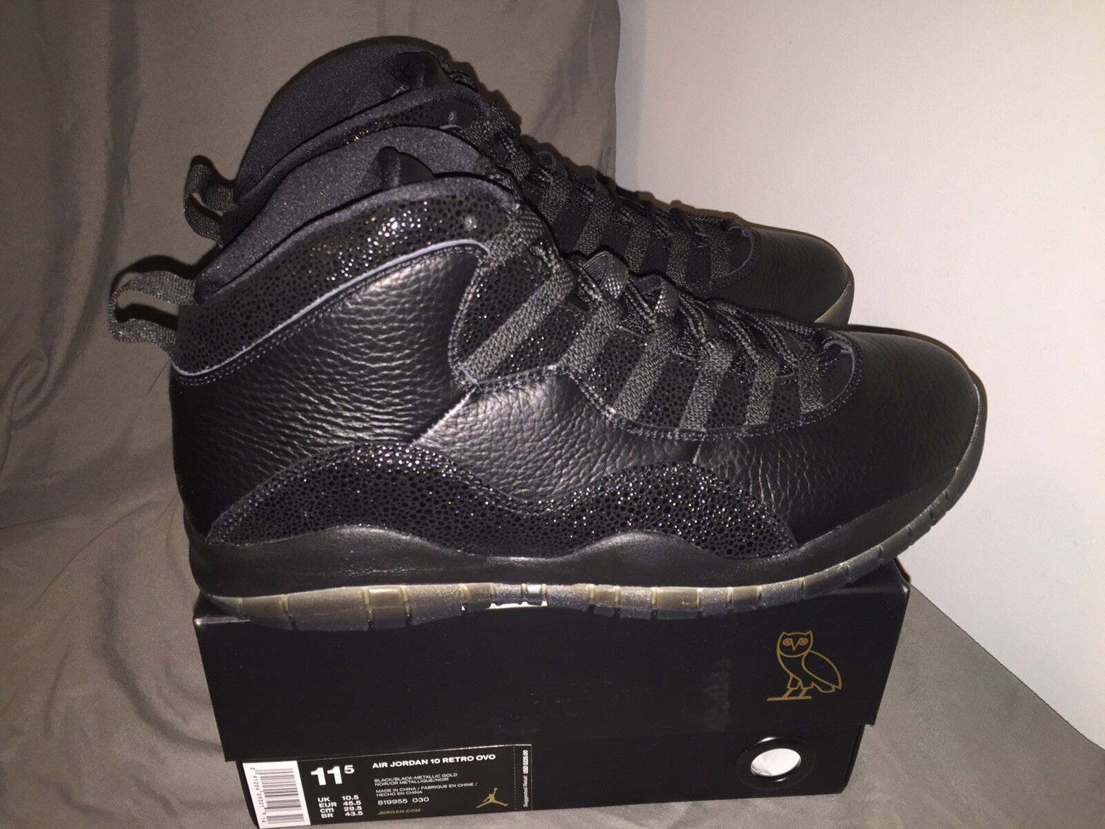 Jordan X OVO All Star Game Shoes Comfortable Comfortable and good-looking