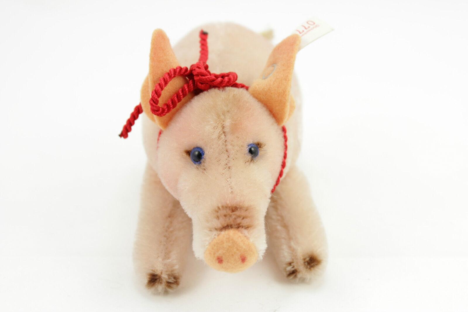 Steiff Teddy Teddybär Happy 2000 2000 2000 Schwein Glücksschwein 10 Nr.07708 033278  4 37a9a4