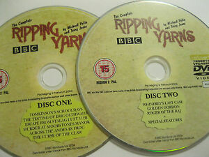 THE-COMPLETE-RIPPING-YARNS-2-disc-set-by-Michael-Palin-amp-Terry-Jones-DVD