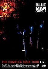 """BLUE MAN GROUP """"THE COMPLEX ROCK TOUR LIVE"""" DVD NEU"""