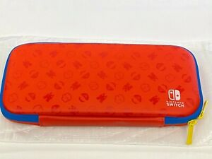 Nintendo Switch Mario Limited Edition Carrying Case + Screen Protector RARE NEW