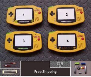 Nintendo Game Boy Advance SHELL - Pokemon LIMITED EDITION -You Pick Screen Lens!