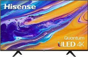 NEW Hisense ULED 4K Premium 50U6G Quantum Dot QLED Series 50-Inch Android Smart