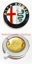 FREGIO STEMMA ALFA ROMEO BADGE IN METALLO CON BIADESIVO   C583