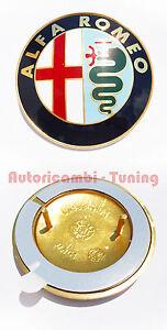 Fregio-Stemma-Logo-ALFA-ROMEO-33-75-145-146-155-156-164-in-ABS-Biadesivo-C583