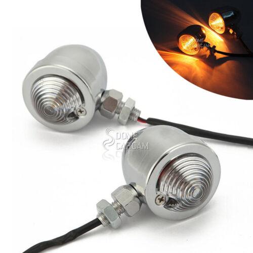 Universal Turn Signal Lights For Yamaha VStar XVS 650 1100 1300 Custom Silverado