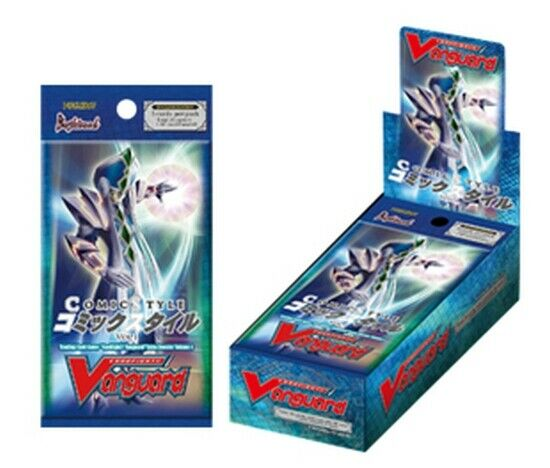 1x  Comic Style Vol. 1  Booster Box New Sealed Product - Cardfight   Vanguard