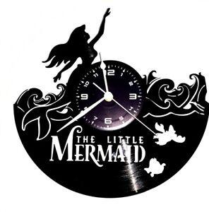 Orologio da parete cartone animato film movie the little mermaid