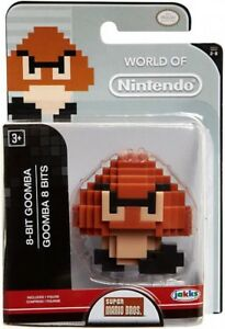 World-of-Nintendo-Super-Mario-8-Bit-Goomba-2-5-Inch-Mini-Figure