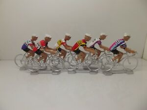 Paris Roubaix  winners set 1996-2019  Cycling  figurines set miniature